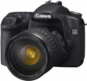 Canon 50D с объективом 25-135