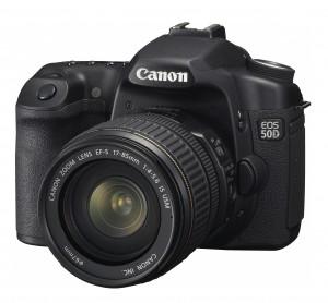 Canon 50D с объективом 17-85