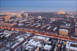 """Москва с """"Воробьевых гор"""" (01)"""