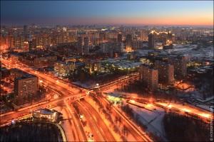 """Москва с """"Воробьевых гор"""" (02)"""