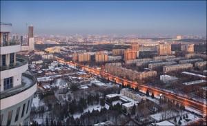 """Москва с """"Воробьевых гор"""" (06)"""