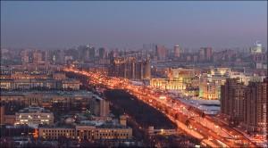 """Москва с """"Воробьевых гор"""" (10)"""