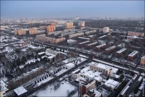 """Москва с """"Воробьевых гор"""" (13)"""