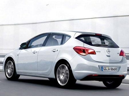 Новая Astra 2009
