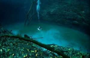 Река на дне реки