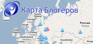 Карты блогеров